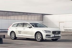 La Volvo V90 bi-Fuel désormais disponible en Belgique