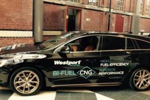 Volvo et Westport exposent la V60 GNV � Paris pour le Congr�s Mondial du Gaz