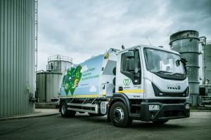 Royaume-Uni : une benne à ordures GNC roule grâce à ses propres déchets