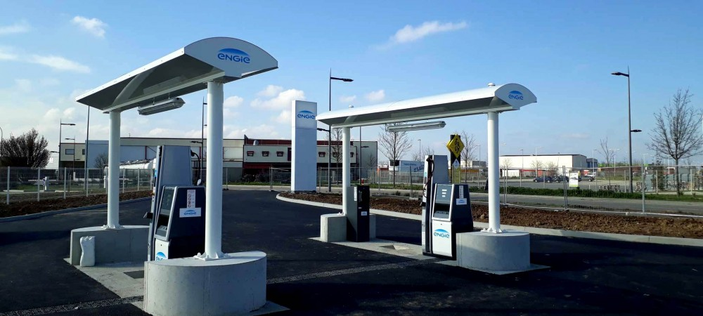 Station GNV ENGIE Solutions CORBAS