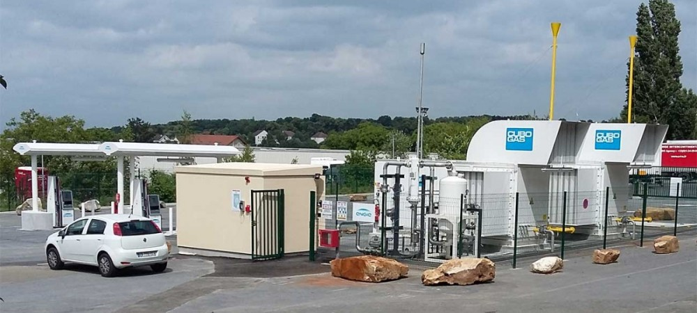 Station GNV ENGIE Solutions SAINT-WITZ