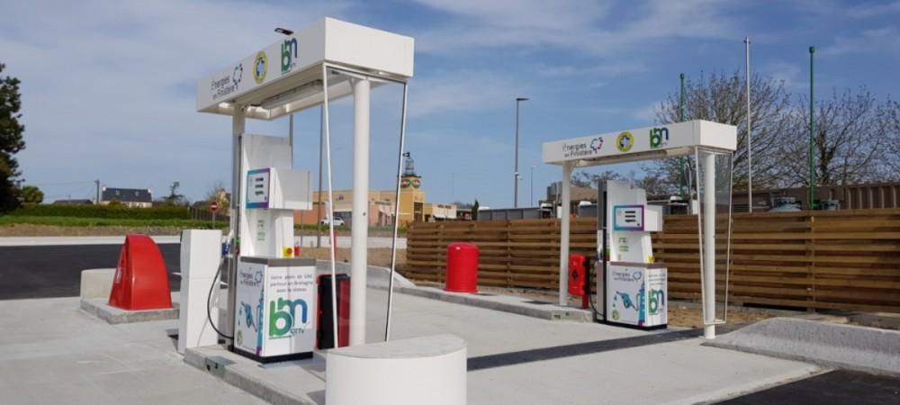 Station GNV SDEF Morlaix / Saint Martin des Champs