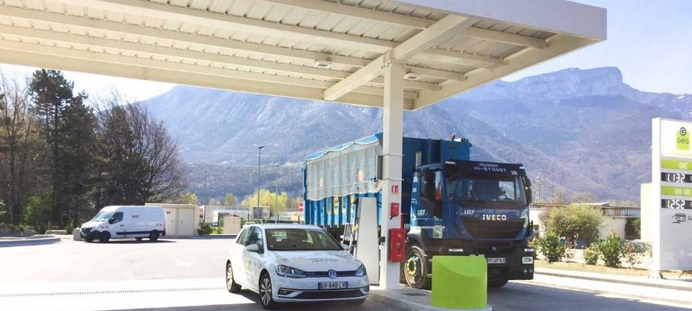 Station GNV Gaz Electricité de Grenoble SAINT-EGREVE