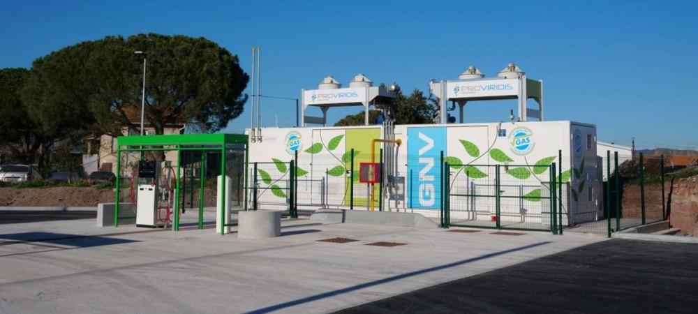 Station GNV Proviridis PUGET SUR ARGENS