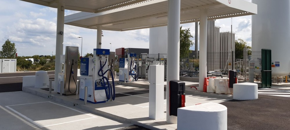 Station GNV Air Liquide BEUZEVILLE