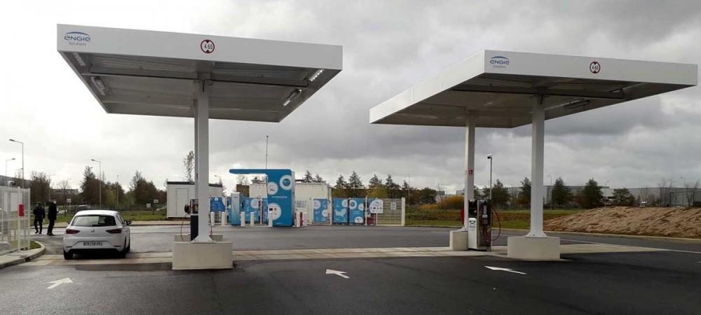 Station GNV ENGIE Solutions LE VIEIL EVREUX