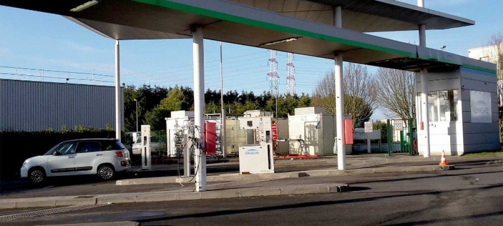 Station GNV ENGIE Solutions MARCOUSSIS