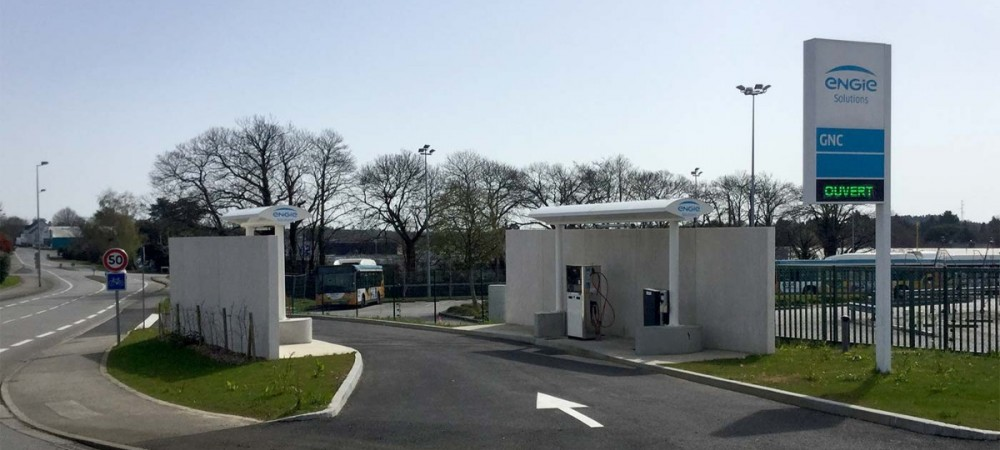 Station GNV ENGIE Solutions QUIMPER