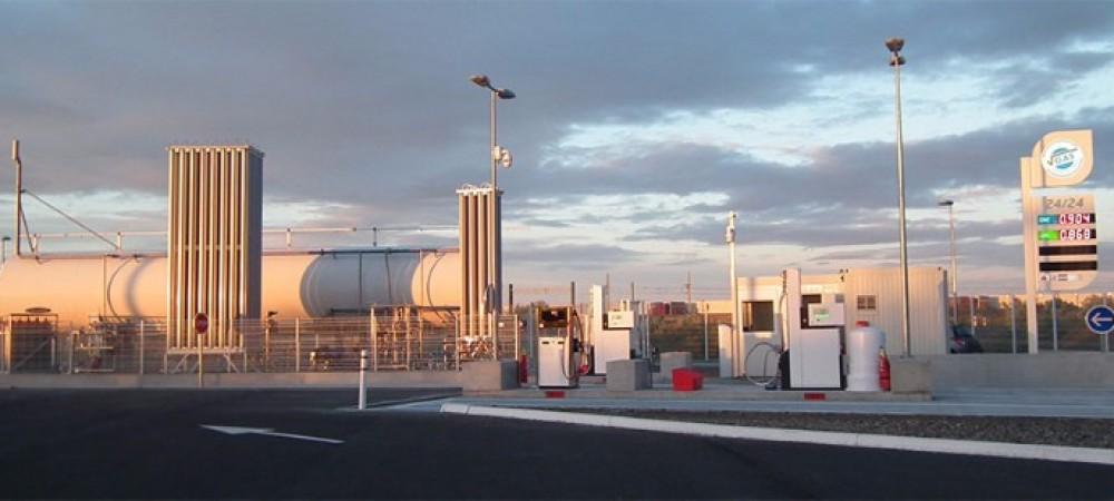 Station GNV Proviridis PORT SAINT LOUIS DU RHONE