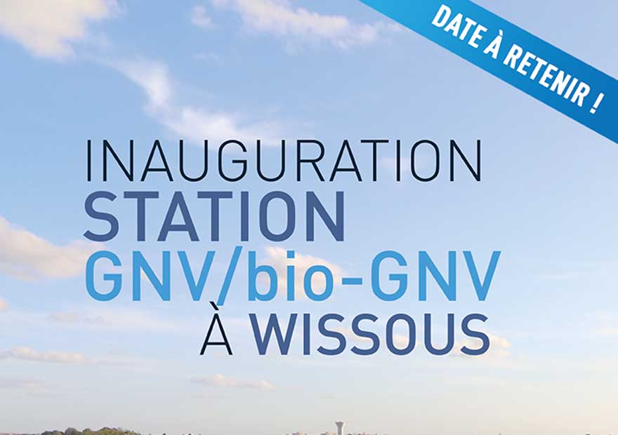 Inauguration station GNV Wissous