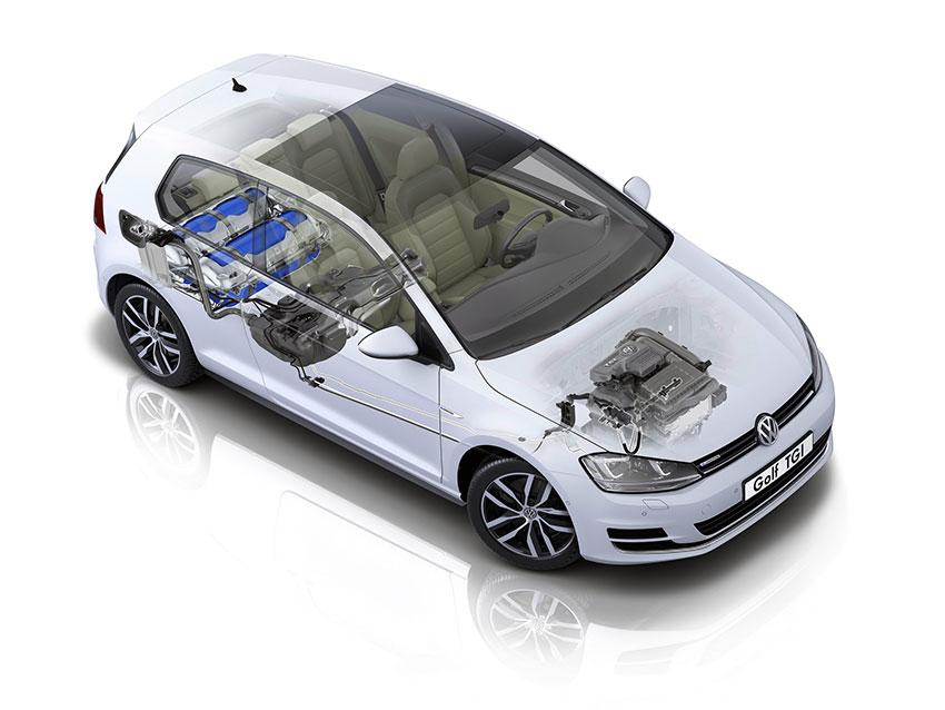 Le fonctionnement d'une voiture GNV