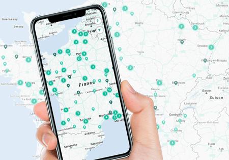 Gaz Mobilité sur mobile