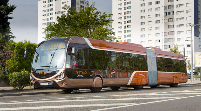 Bus GNL Iveco Crealis 18m GNV