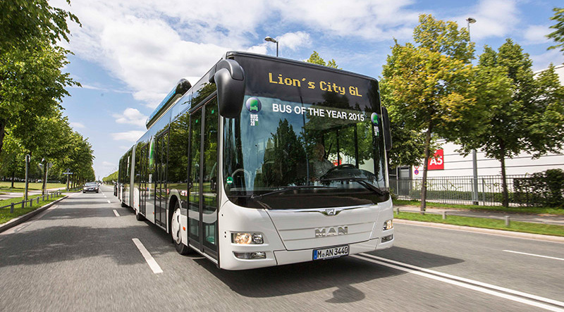 Bus GNV MAN Lion's City CNG