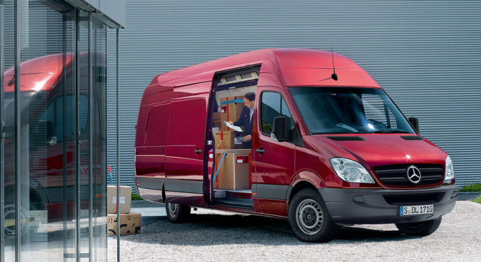 Mercedes Benz 316 NGT Sprinter Fourgon