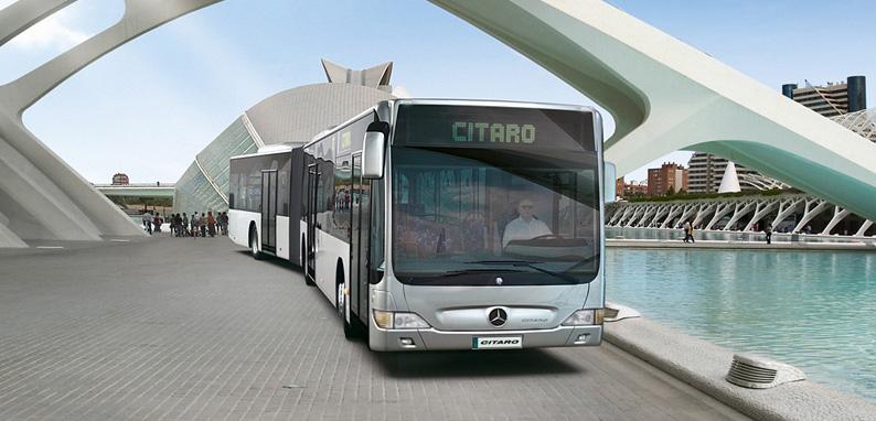 Bus GNV Mercedes Citaro GNV