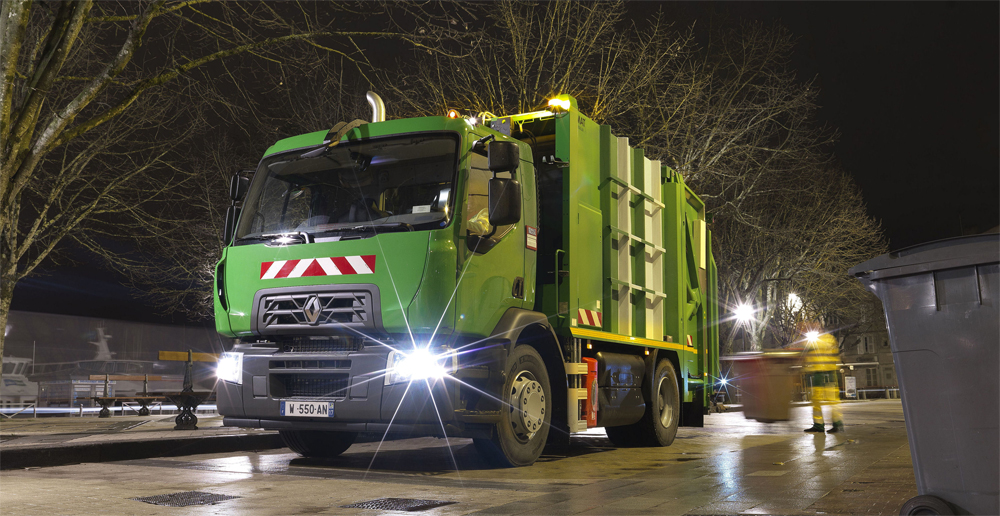 Camion GNV Renault Trucks D Wide CNG