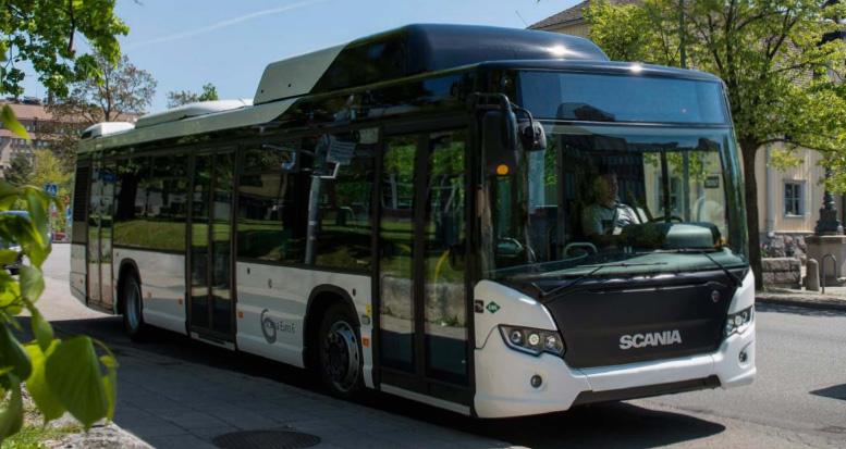 Bus GNV Scania Citywide LF Gaz