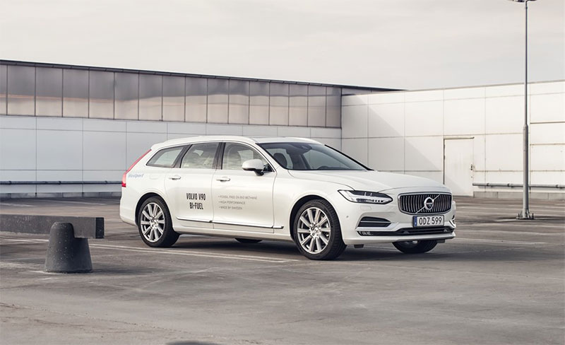 volvo v90 bi fuel voiture gnv prix performances autonomie consommation. Black Bedroom Furniture Sets. Home Design Ideas