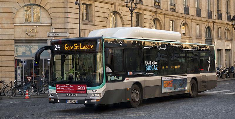 Ile-de-France : les difficultés du bus électrique pourraient profiter au gaz naturel