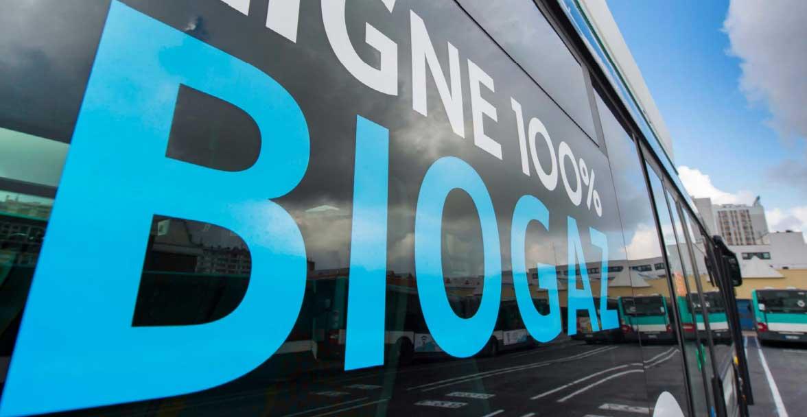 BioGNV : l'Europe soutient le programme Bus 2025 de la RATP
