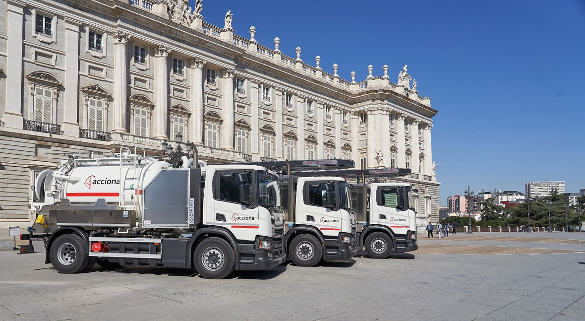 Madrid opte pour le GNC pour l'entretien de ses eaux usées