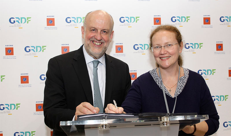 GNV & biométhane : L'ADEME et GrDF prolongent leur collaboration