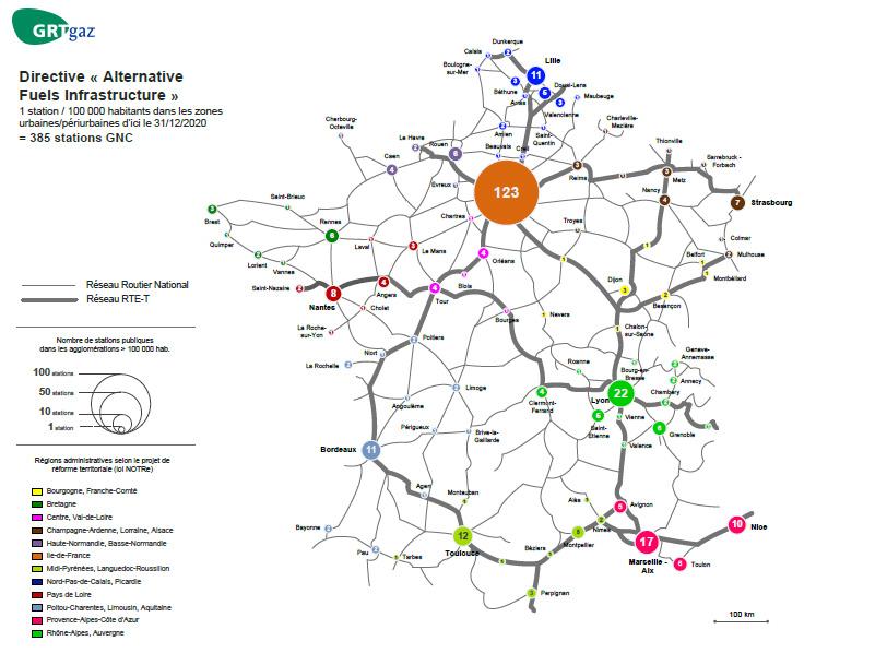 Stations GNV : l'AFGNV prend la main sur la Directive AFI