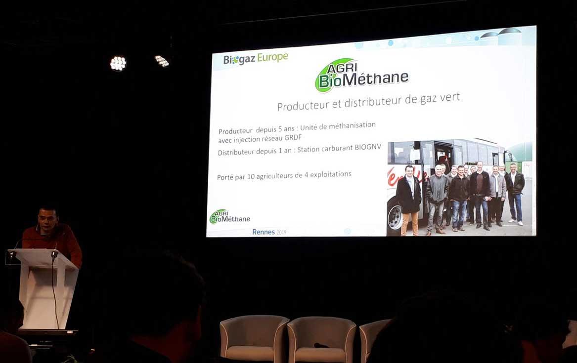 De la méthanisation à la station bioGNV : Agribiométhane témoigne à Biogaz Europe