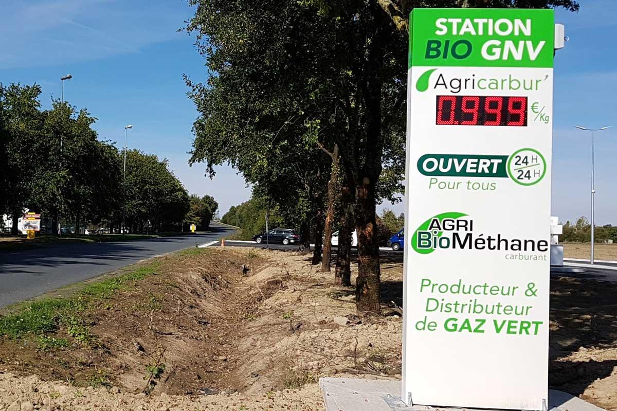 Agribiométhane : Une première station GNV ouverte en France par un groupement d'agriculteurs