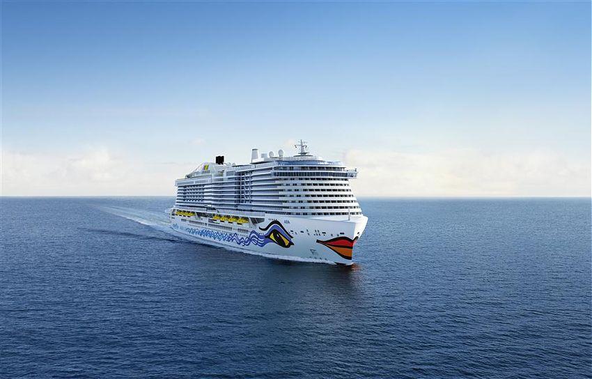 Aida Cruises commande un troisième navire GNL
