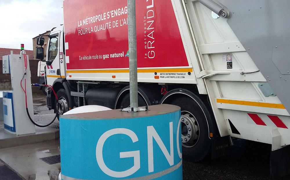 Utilitaires et camions GNV subventionnés par Le Grand Lyon