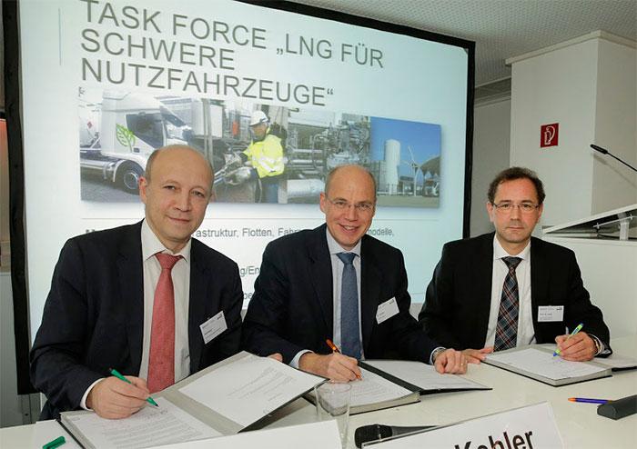 Allemagne : une task-force pour d�velopper le GNL carburant