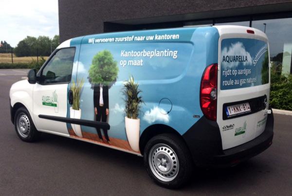 Belgique - Aquarella passe au GNV pour ses livraisons