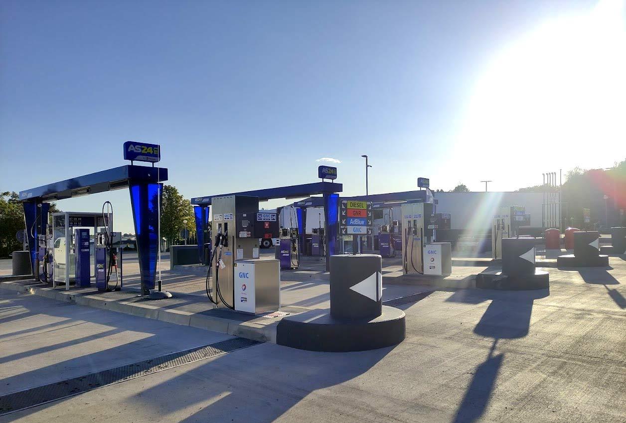AS 24 ouvre deux nouvelles stations GNV à Tours et à Poitiers