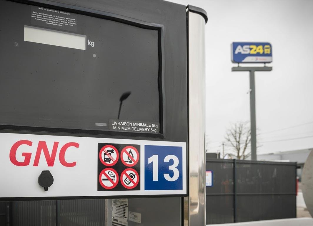 Trois nouvelles stations GNV pour le réseau Total - AS 24