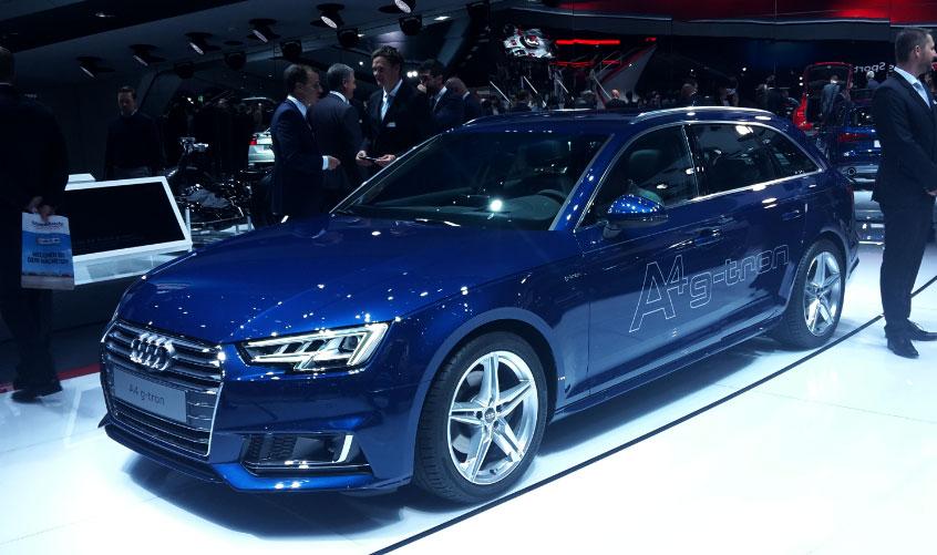 L'Audi A4 G-tron présentée au salon de Francfort