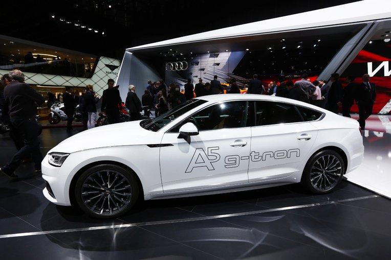 Audi A5 Sportback g-tron : la nouvelle berline GNV révélée au salon de Genève