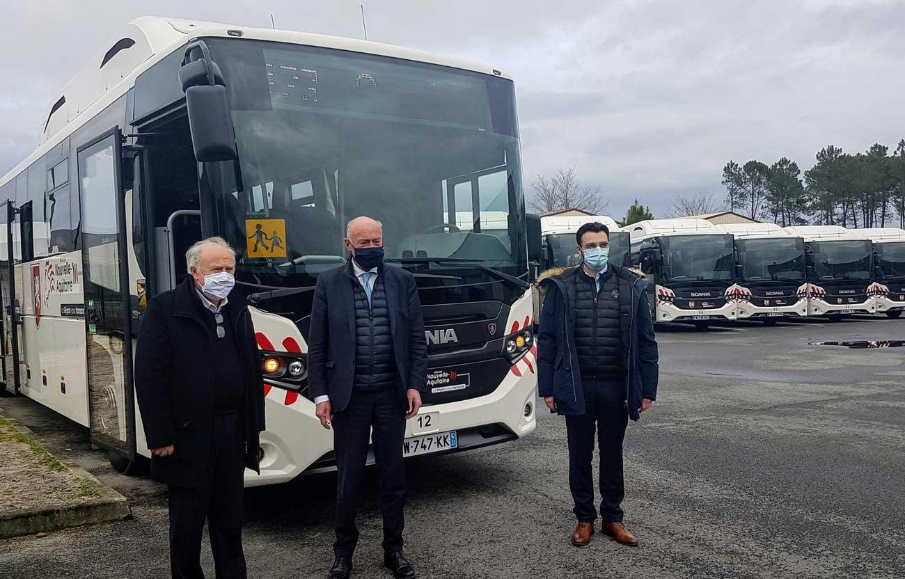 Les premiers cars GNV arrivent en Gironde