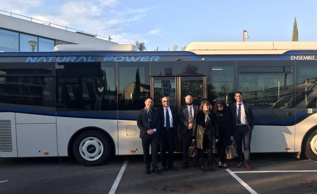 Des autocars au gaz naturel pour l'agglomération de Draguignan