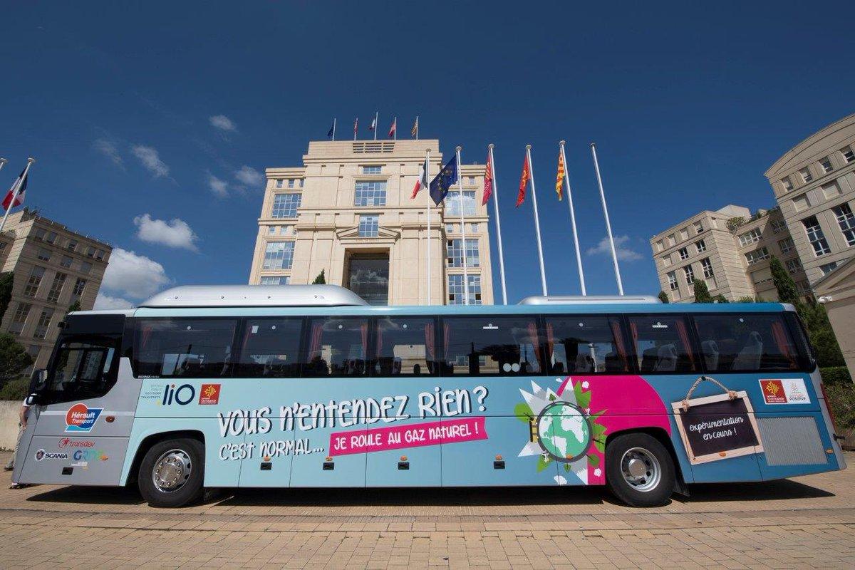 Un autocar au gaz naturel expérimenté dans l'Hérault