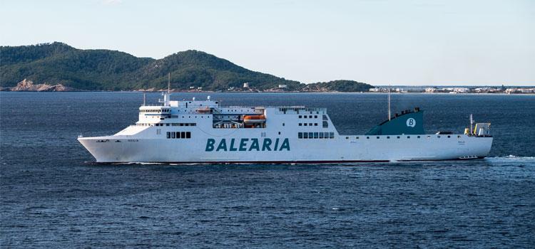 Balearia compte investir 60 millions d'euros dans ses ferries GNL