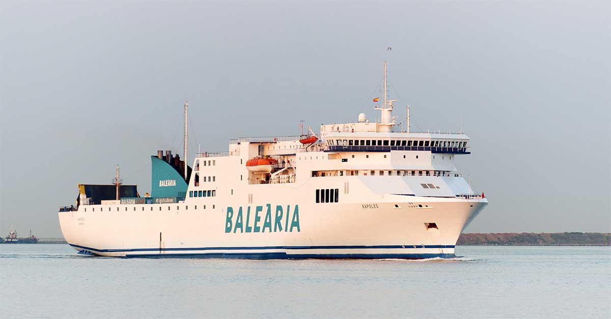 MAN va convertir deux navires de Balearia au GNL
