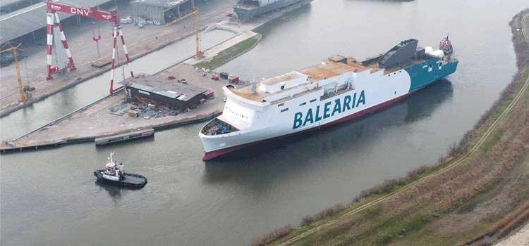 Baleària lance le tout premier ferry au GNL de Méditerranée