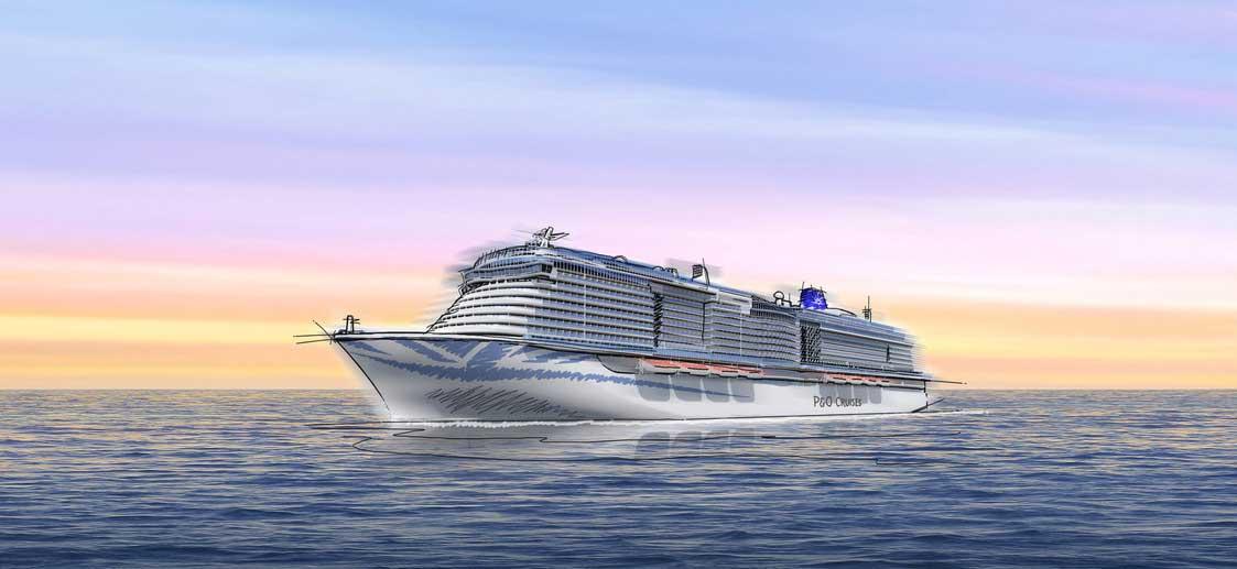 Carnival Corporation commande un nouveau navire GNL pour PO Cruises
