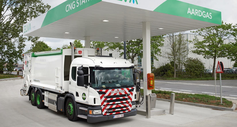 Belgique � Scania livre 4 bennes � ordure GNV � l�intercommunalit� d�Alost
