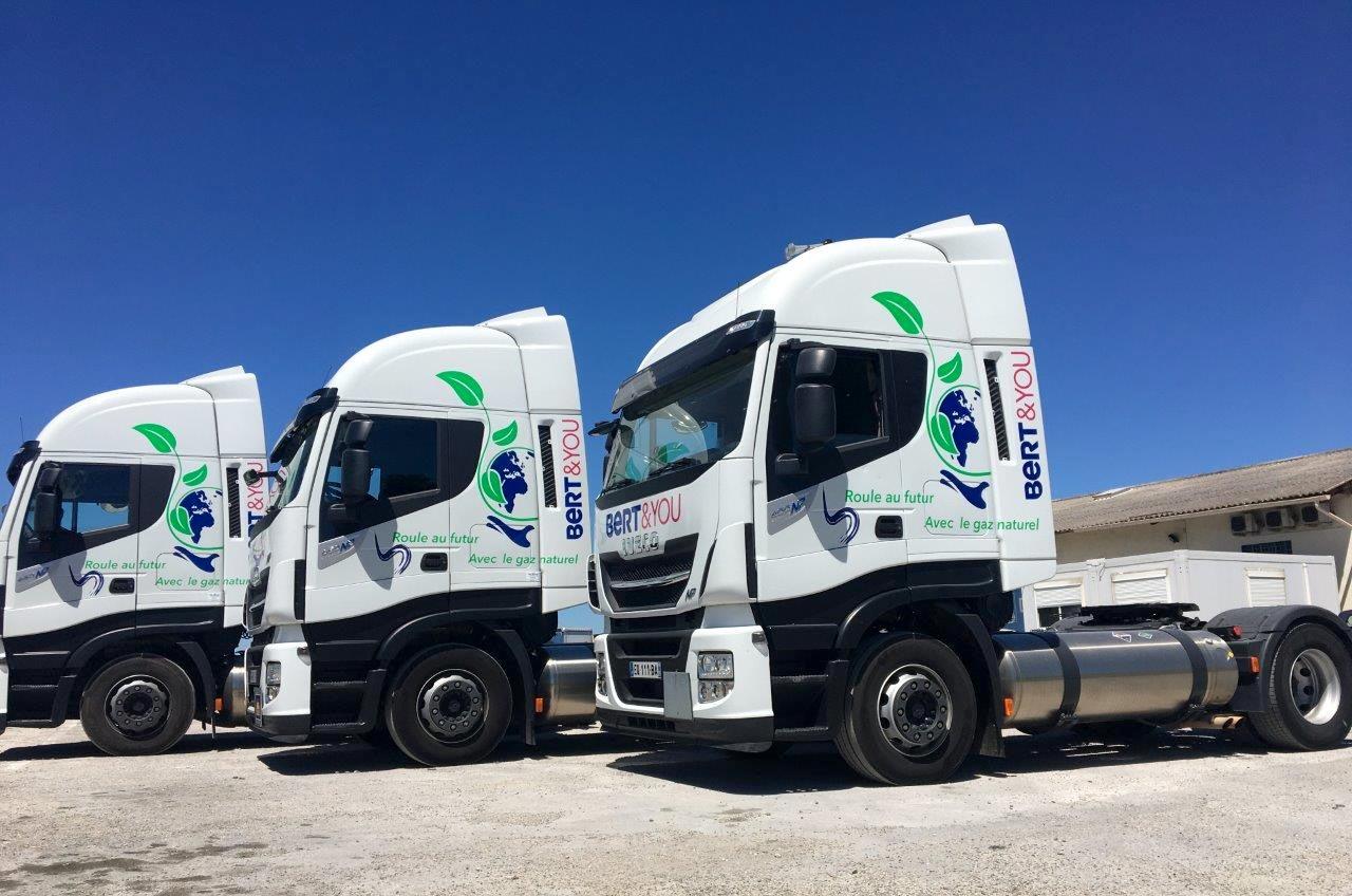 Bert&You veut renouveler 50 % de ses camions au gaz naturel