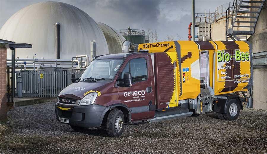 Bio-Bee : un camion de collecte de déchets au biométhane pour la ville de Bristol