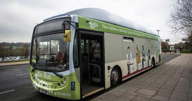 Un projet de 110 bus au biogaz à deux étages pour Bristol