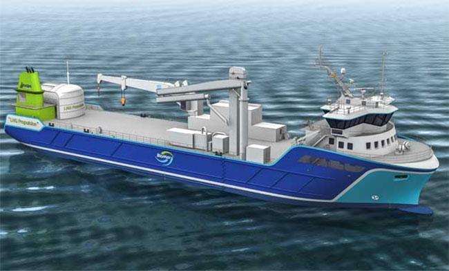 BioMar commande un navire GNL motorisé par Rolls Royce